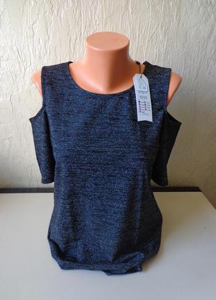 Блуза з відкритими плечами only, розмір 42 (50)