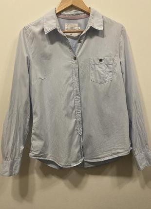 Рубашка h&m p.42/12. cotton. #280. 1+1=3🎁