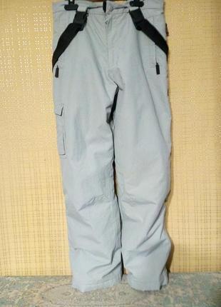 Штаны утепленные с мембранной vapor tex 152 см