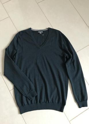 Пуловер мужской шерсть мериноса gap размер l