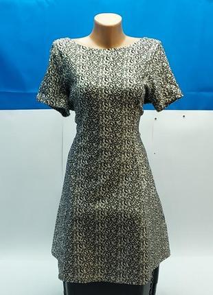 Платье, леопардовая расцветка, m&s