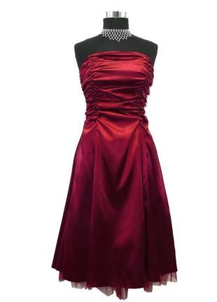 Платье juju&christine бордо марсала бургунди вамп корсет вечернее выпускное шнуровка