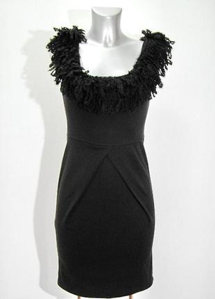 Маленькое элегантное итальянское черное платье kor&kor