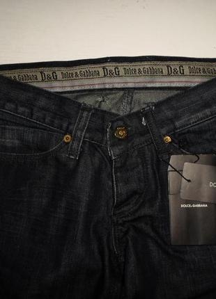 Супер-стильные бренд.джинсы dolce&gabbana,оригинал,италия,тёмно-синий