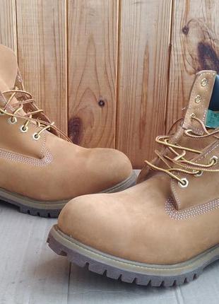 Стильные полностью кожаные новые водонепроницаемые ботинки timberland оригинал