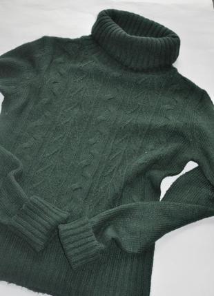 Теплый мохеровый свитер с высоким горлом от vero moda