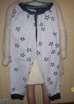 Спортивные утеплённые штаны брэнд esmara / германия