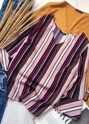 Красивая блуза в полоску от papaya