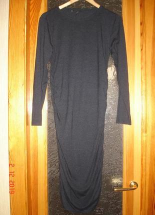 Базовое платье футболка трикотажное оnly