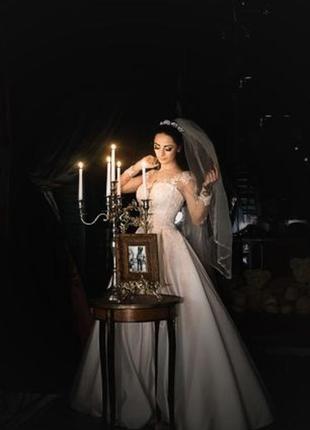 Свадебное платье айвори лайт