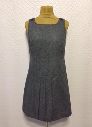 Новое (с этикеткой) полушерстяное платье-сарафан от esprit, размер нем 40, укр 46-48