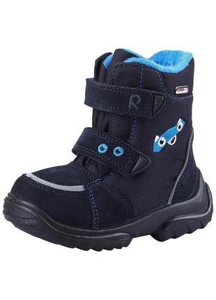 Термо ботинки сапоги reima tec 25 р(13см)осень зима