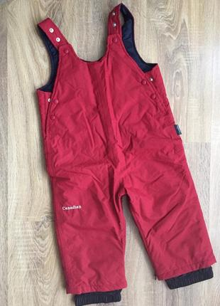 Брендові лижні штани комбінезон оригінал canadian