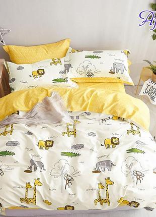 Комплект постельного белья с компаньоном afrika