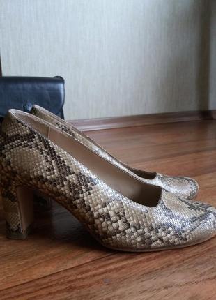 Туфли итальянские vero cuoio кожаные