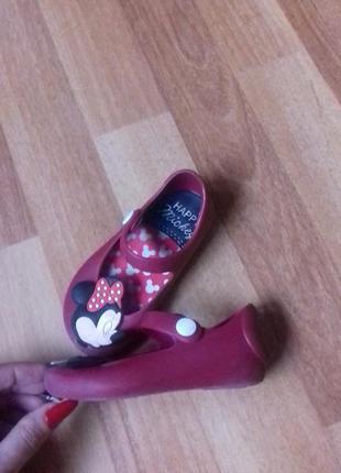 Микки маус мелисса детские летние туфли