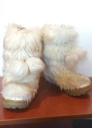 Детские меховые сапоги / угги / зимние ботинки для девочки next, р.32 код w3318