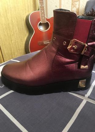 Зимні ботинки