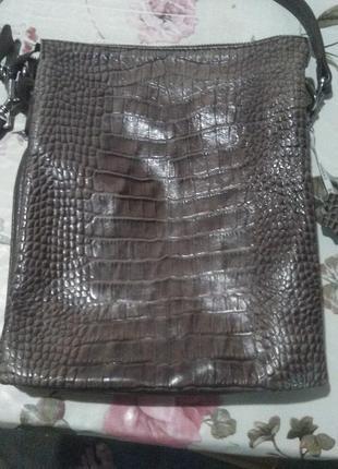 Кожанная сумка