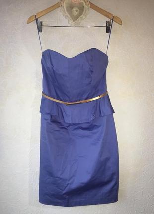 Очень красивое платье с корсетом и тонким  ремешком