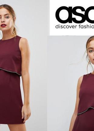Очаровательное платье с завышенной талией asos uk14-12/eu42-40