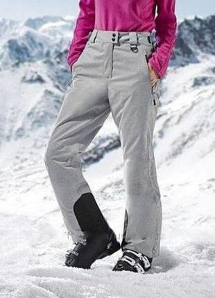 Женские лыжные штаны термо crivit 38