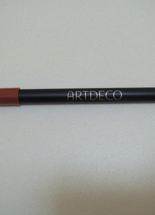 Artdeco водостойкий карандаш для губ soft lip liner waterproof № 59.есть подарки.