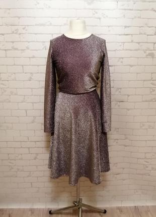 Шикарное нарядное новогоднее праздничное платье