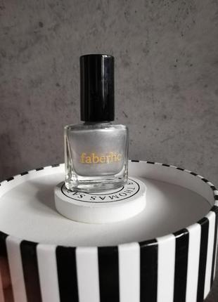Лак для ногтей со спецэффектами «мираж», тон «серебряная нить» faberlic 7558  фаберлик