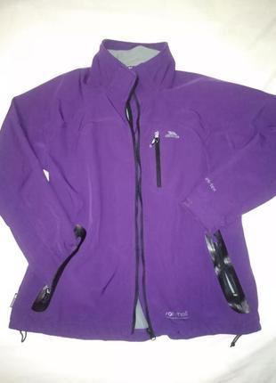 Фиолетовая термокуртка trespass 8000 мм. xxl
