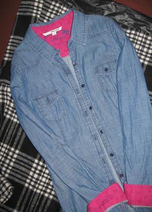 Джинсовая рубашка  tally weijl