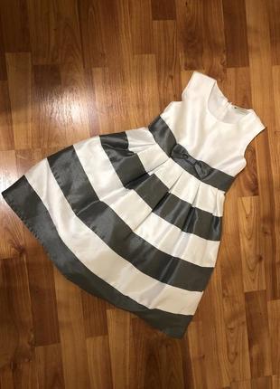 Нарядное платье на девочку zebralino