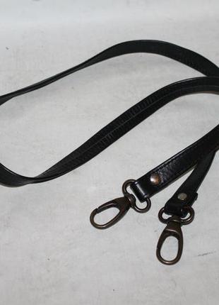 Кожаный плечевой ремень на сумку/длинная ручка 100% натуральная кожа