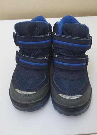 Ботинки мальчику lupilu зимние термостойкие