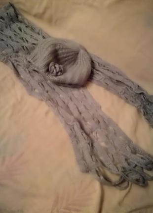 Набор  берет и шарф