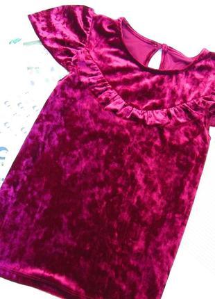 Бархатное платье next  💓размер 10-11 лет (замеры в личку)  💲цена 1️⃣6️⃣0️⃣