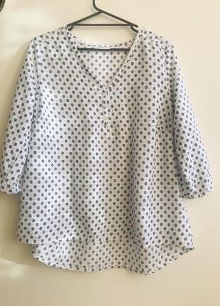 Блуза gina p.40 1+1=3🎁