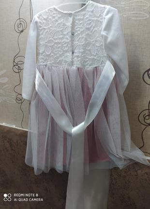 Платье на девочку 1 год
