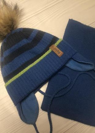 Шапка + шарф agbo
