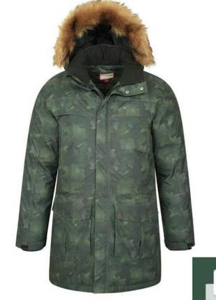 Теплая водонепроницаемая пуховая куртка парка мountain warehouse