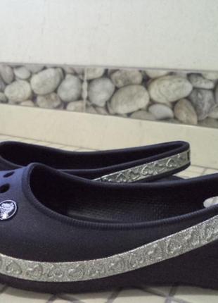 Балетки crocs оригиналы 19 см стелька