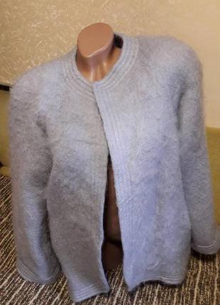 Пиджак кофта мохер лама