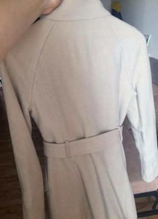 Классическое шерстяное пальто mango3
