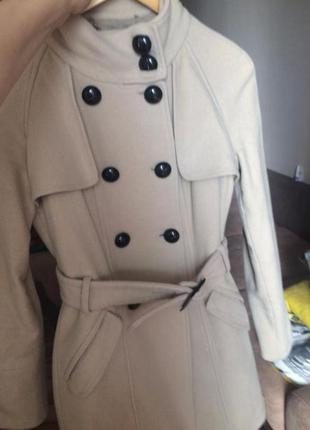 Классическое шерстяное пальто mango2