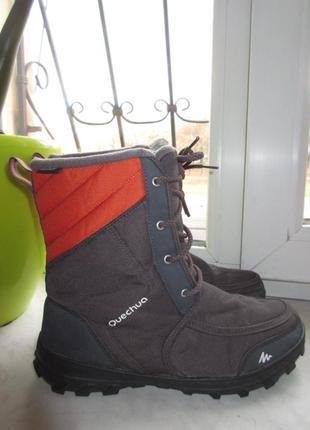 Зимние термо ботинки quechua 39 р