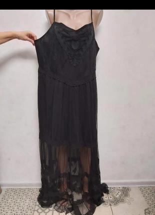 Simply be новое нарядное  платье в пол