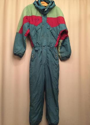 Лыжный костюм, комбинезон, унисекс, brugi.