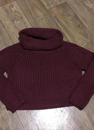 Женский укороченный свитер. размер s-m. киев