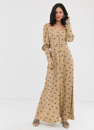 Елегантна сукня в принт коні лошади доставка сутки