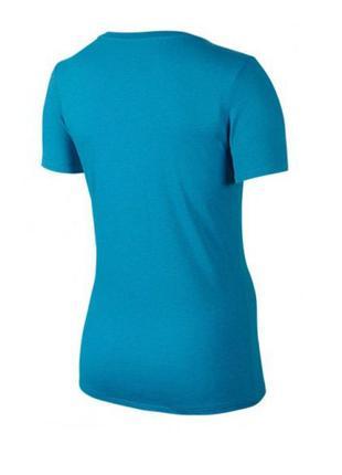 Женская футболка nike just do it dfct v-necktee р. s оригинал распродажа5